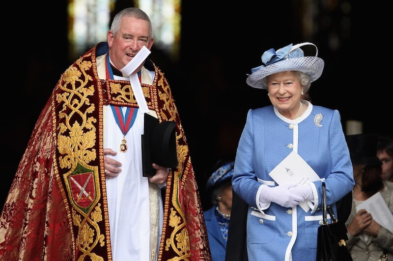 Queen Elizabeth II Attends 300th Anniversary with Graeme Knowles