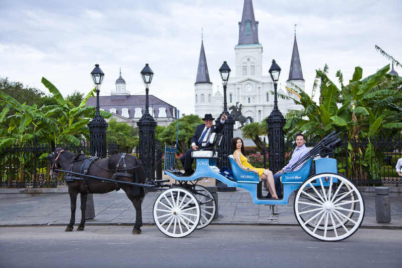 Carriage Ride Through French Quarter